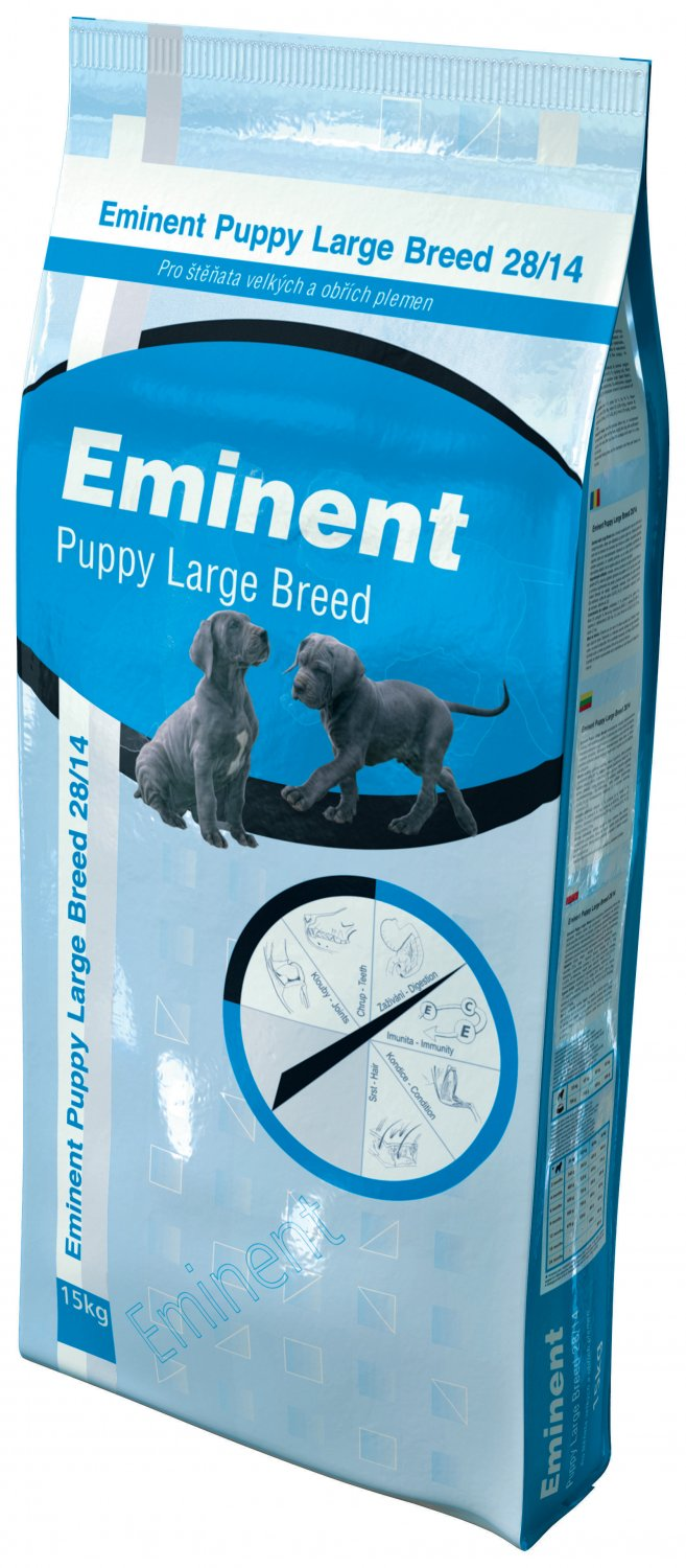 Eminent Puppy Large Breed 15kg + 2kg ZDARMA