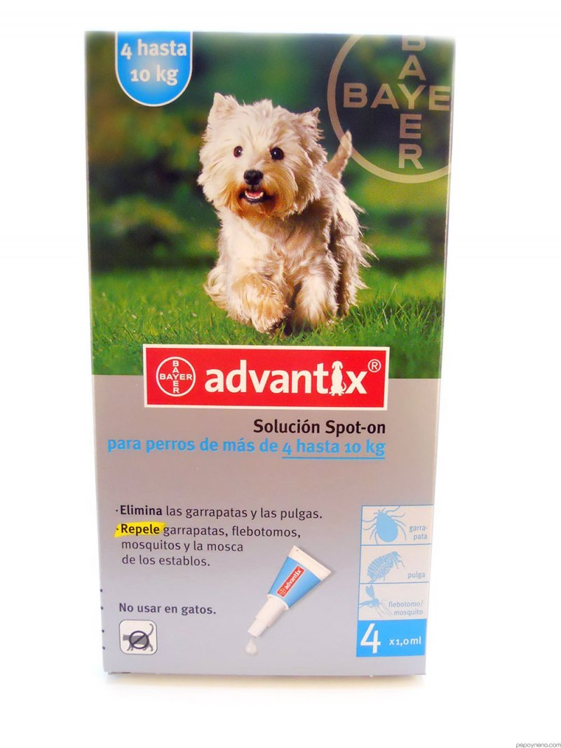 Advantix pro psy spot-on 4-10kg 1x1 ml