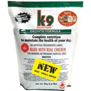 k9 Growth small breed 3kg