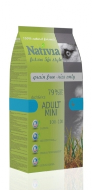 Nativia Dog Adult mini 3 kg